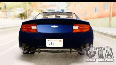 GTA 5 Dewbauchee Rapid GT para la vista superior GTA San Andreas