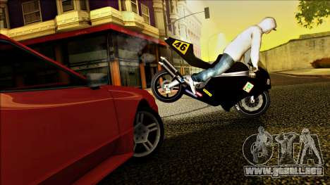 Elegy Drophead para visión interna GTA San Andreas