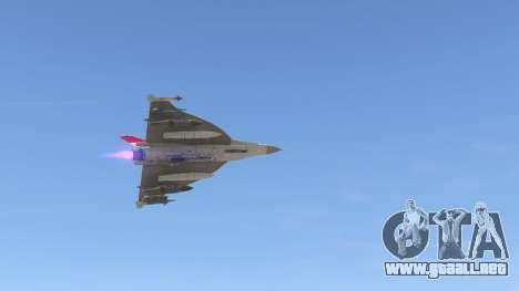 GTA 5 F-16XL USA noveno captura de pantalla