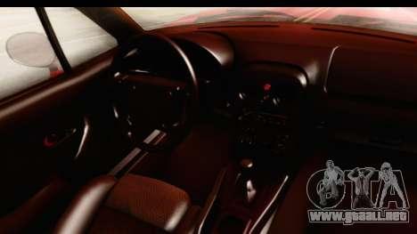 Mazda Miata with Crazy Camber para visión interna GTA San Andreas