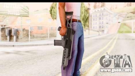 GTA 5 Vom Feuer Special Carbine para GTA San Andreas tercera pantalla