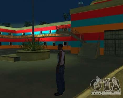 Armenian Jeferson para GTA San Andreas sucesivamente de pantalla