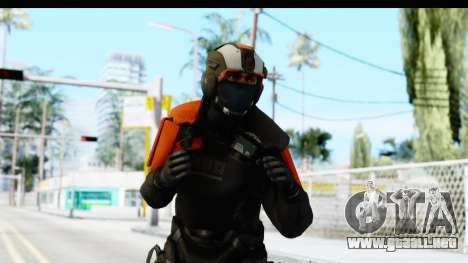 Homefront The Revolution - KPA v4 Black para GTA San Andreas