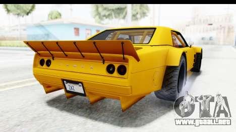 GTA 5 Declasse Drift Tampa para la visión correcta GTA San Andreas