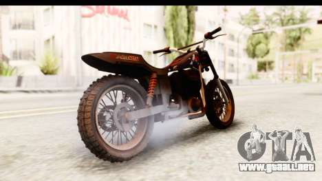 GTA 5 Western Cliffhanger Custom v2 para GTA San Andreas left