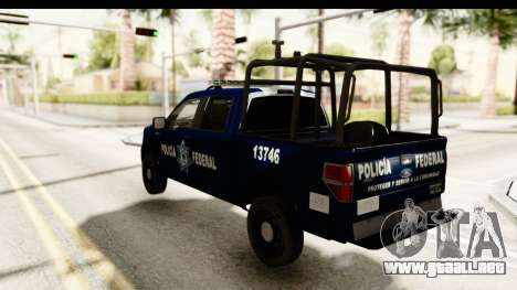 Ford F-150 Federal Police para GTA San Andreas left