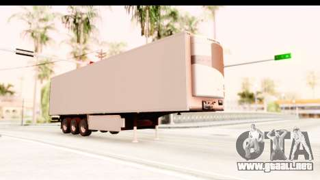 Trailer ETS2 v2 New Skin 2 para la visión correcta GTA San Andreas