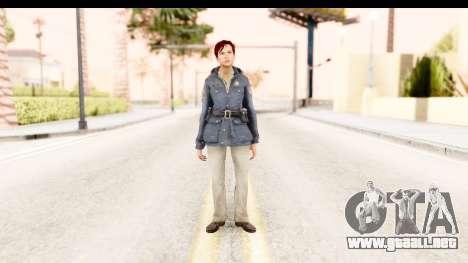 Silent Hill Downpour - Annie para GTA San Andreas segunda pantalla