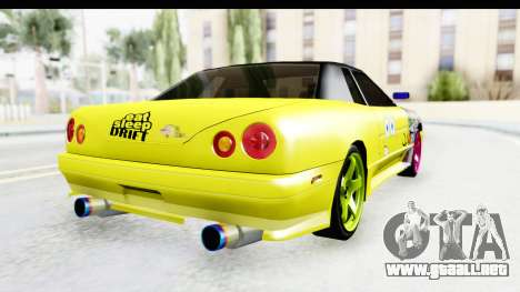 Elegy SpongeBob Version para GTA San Andreas left