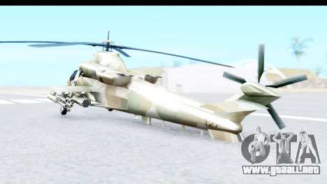 Denel AH-2 Rooivalk para GTA San Andreas left