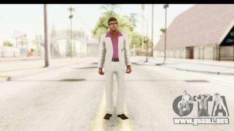 GTA Vice City - Lance Vance Remake para GTA San Andreas segunda pantalla