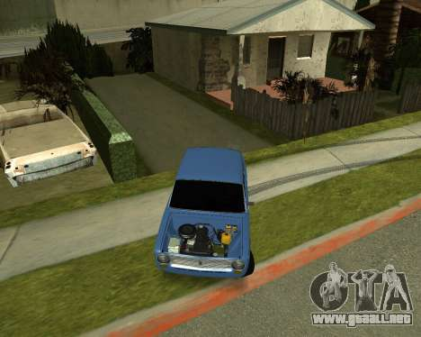 VAZ 2101 Armenian para GTA San Andreas left