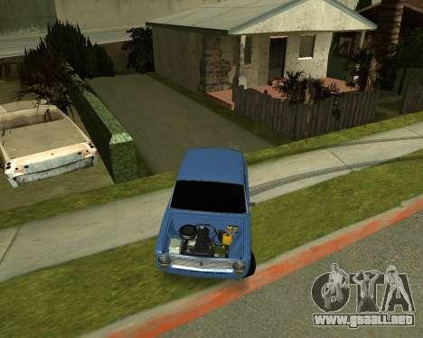 VAZ 2101 Armenian para GTA San Andreas left