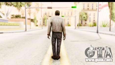 Left 4 Dead 2 - Zombie Pilot para GTA San Andreas tercera pantalla