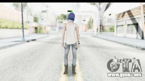 Life is Strange Episode 3 - Chloe Shirt para GTA San Andreas tercera pantalla