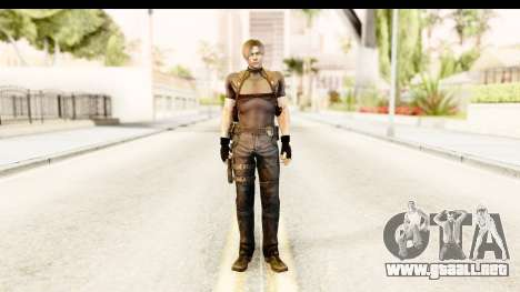 Resident Evil 4 Ultimate - Leon S. Kennedy para GTA San Andreas segunda pantalla