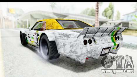 GTA 5 Declasse Drift Tampa para vista lateral GTA San Andreas
