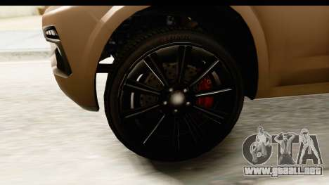 GTA 5 Benefactor XLS IVF para GTA San Andreas vista hacia atrás