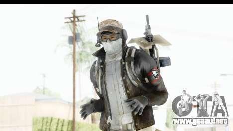 The Division Last Man Battalion - Engineer para GTA San Andreas