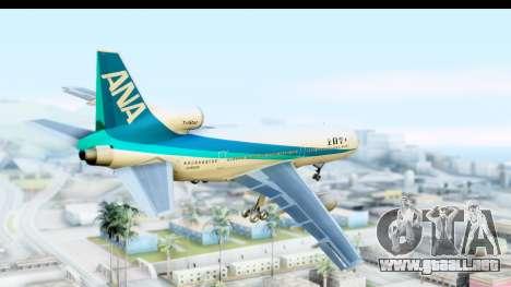 Lockheed L-1011-100 TriStar All Nippon Airways para la visión correcta GTA San Andreas