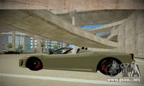 Ferrari F430 Spider para GTA San Andreas left