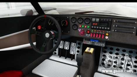 GTA 5 Lampadati Tropos SA Lights para visión interna GTA San Andreas