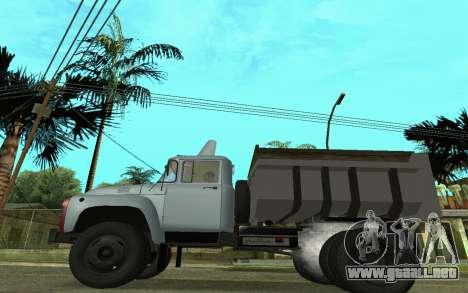 ZIL-130 Armenia para GTA San Andreas left