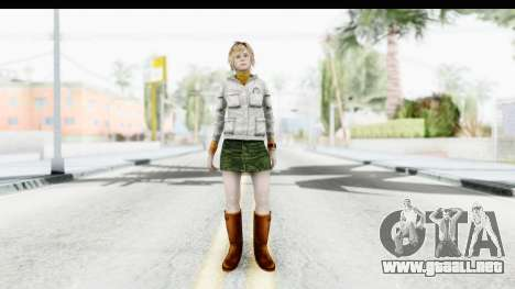 Silent Hill Downpour - Heather para GTA San Andreas segunda pantalla