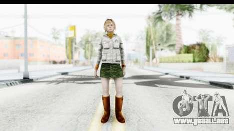 Silent Hill Downpour - Heather para GTA San Andreas segunda pantalla