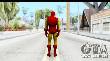 Marvel Heroes - Ironman para GTA San Andreas tercera pantalla