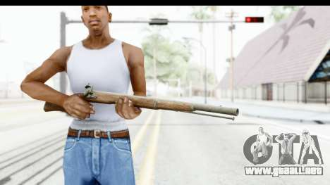 GTA 5 Musket para GTA San Andreas tercera pantalla