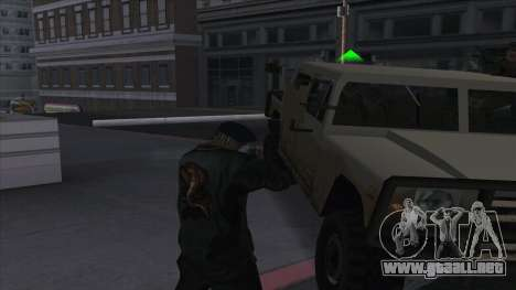 WantedLevel para GTA San Andreas tercera pantalla