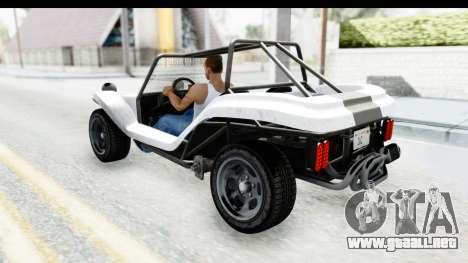 GTA 5 BF Bifta v2 SA Style para visión interna GTA San Andreas