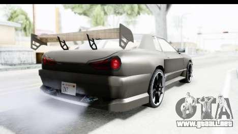 Elegy Sport Type v1 para la visión correcta GTA San Andreas
