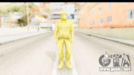 ArmyMen: Serge Heroes 2 - Man v5 para GTA San Andreas segunda pantalla