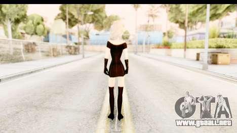 Elsa Old Fashioned para GTA San Andreas tercera pantalla