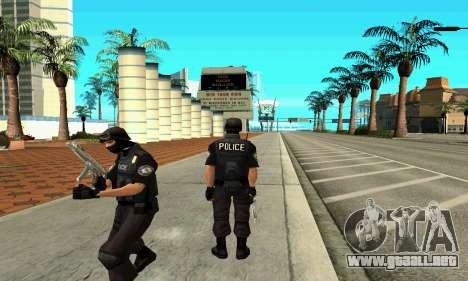 NextGen cambiado el skin original SWAT para GTA San Andreas segunda pantalla