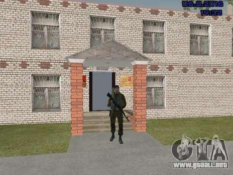 Policía para GTA San Andreas tercera pantalla