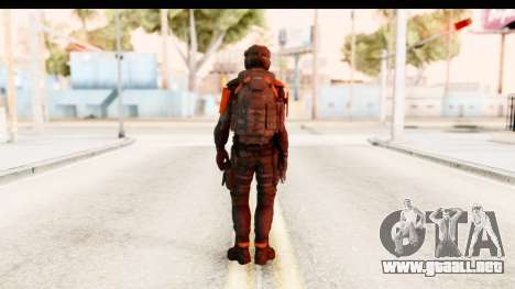 Homefront The Revolution - KPA v3 Black para GTA San Andreas tercera pantalla