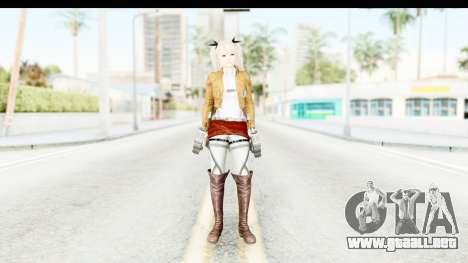 DoA 5: LR - Marie Rose (A.O.T DLC) para GTA San Andreas segunda pantalla