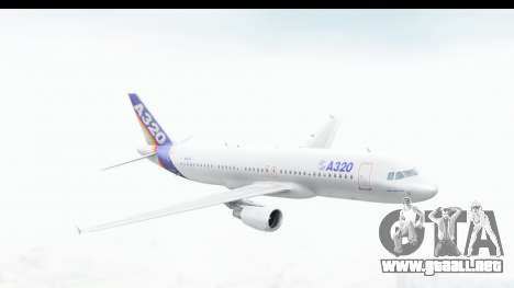 Airbus A320-200 Industrie MSN 1 1987 First Fligh para GTA San Andreas