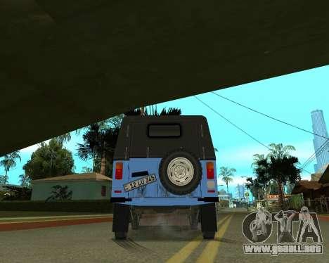 Luaz 969 Armenian para la vista superior GTA San Andreas