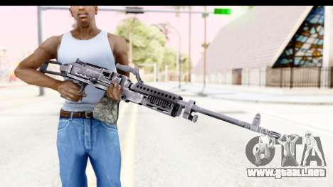 M240 FSK No Attachments para GTA San Andreas tercera pantalla