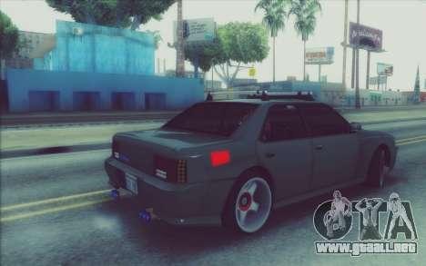 New Stance Sultan para la visión correcta GTA San Andreas