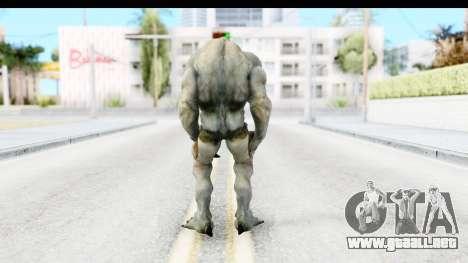 DOOM 3 - Hellknight para GTA San Andreas tercera pantalla