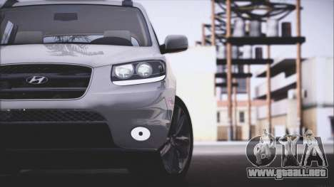 Hyundai Santa Fe Stock para la visión correcta GTA San Andreas