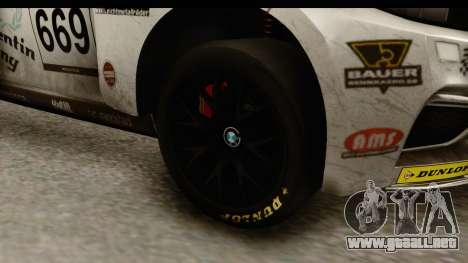 BMW M235i Coupe para GTA San Andreas vista hacia atrás