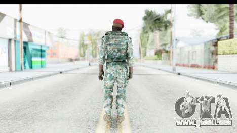 Global Warfare Indonesia para GTA San Andreas tercera pantalla