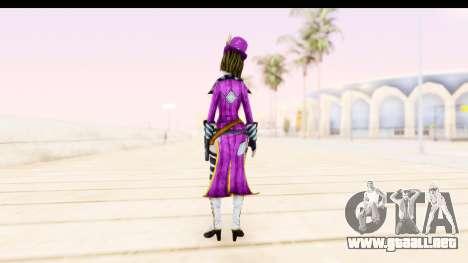 Borderland - Moxi Purple para GTA San Andreas tercera pantalla