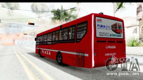 Puma D12 Plaza para GTA San Andreas left